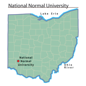National Normal University map.jpg