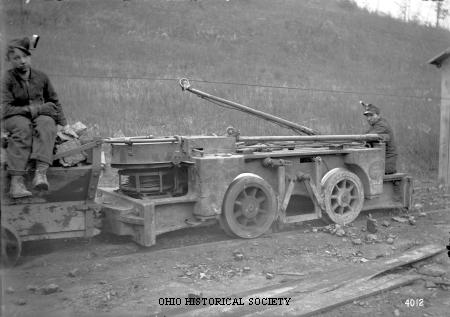 Jeffrey Mining Machine and Young Mine Runners.jpg