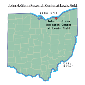 Glenn, John H. Research Center at Lewis Field map.jpg