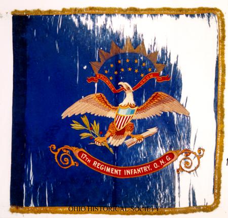 Regimental Colors of the 17th Infantry, Ohio National Guard.jpg