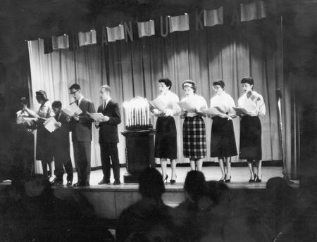 File:Choir Performing for Chanukah.jpg