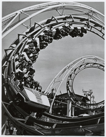 File:Cedar Point Rollercoaster; Corkscrew.jpg