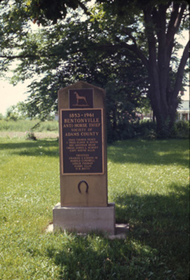 File:Bentonville Anti-horse Thief Society Marker.jpg