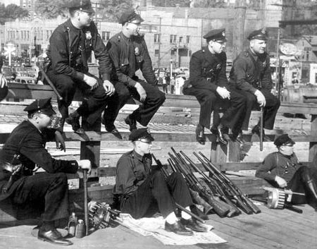 File:Heavily-Armed Police at the Goodyear Tire & Rubber Company Strike.jpg