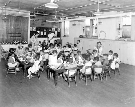 Children at Works Progress Administration Feeding Program.jpg