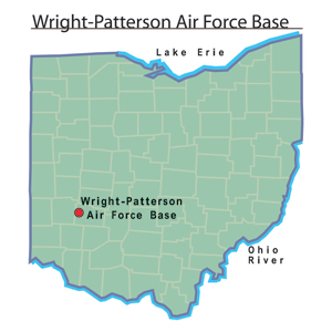 Wright Patterson Afb Map Wright Patterson Air Force Base   Ohio History Central