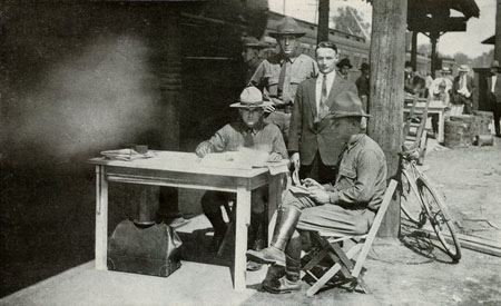 File:Camp Sherman First Recruit.jpg