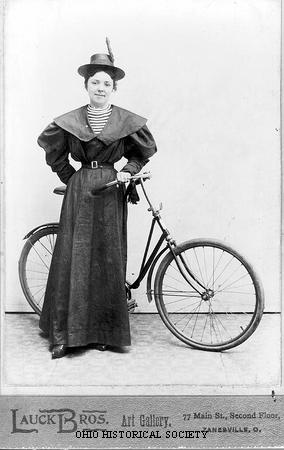File:Woman with Bicycle.jpg