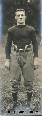 Norton, Fred in His Football Uniform.jpg