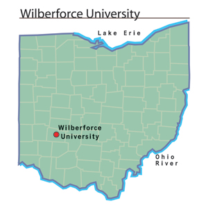 Wilberforce University map.jpg
