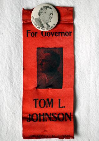 Johnson, Tom L. Campaign Button.jpg