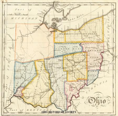 Ohio Map drawn by John Melish.jpg