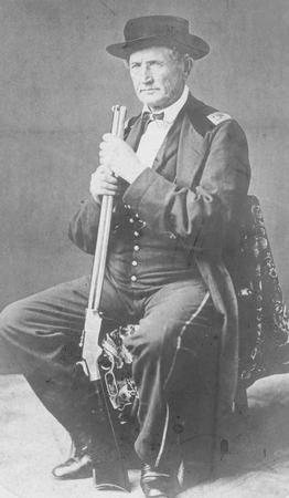 File:McCook, Daniel, Sr. (with) Rifle.jpg