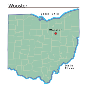 Map Of Wooster Ohio Wooster, Ohio   Ohio History Central