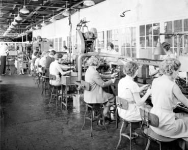 Women In The Industrial Workforce Ohio History Central