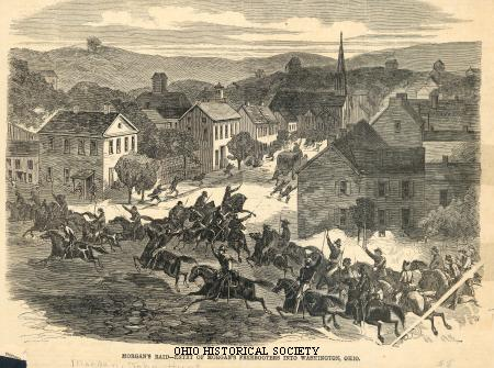 Entry of Morgan's Raiders into Washington, Ohio.jpg